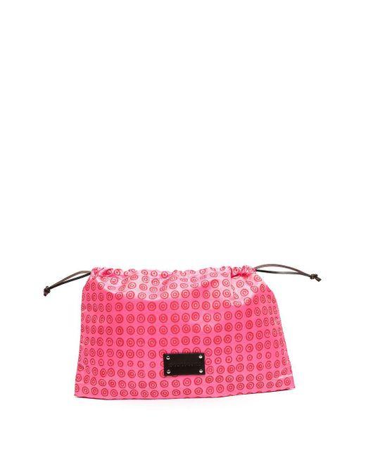10 Corso Como Pink Logo-print Pouch Bag