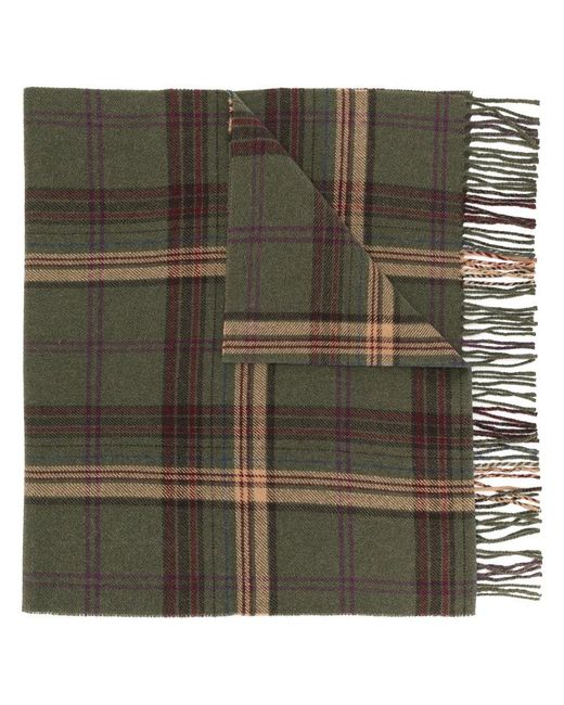 Polo Ralph Lauren | Green Checked Scarf for Men | Lyst