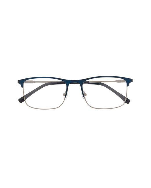 メンズ Lacoste スクエア眼鏡フレーム Multicolor