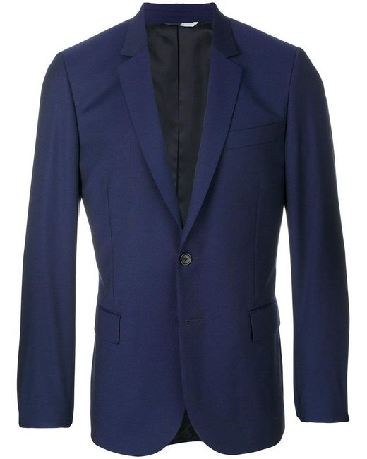 PS by Paul Smith   Blue Scalloped Suit Jacket for Men   Lyst