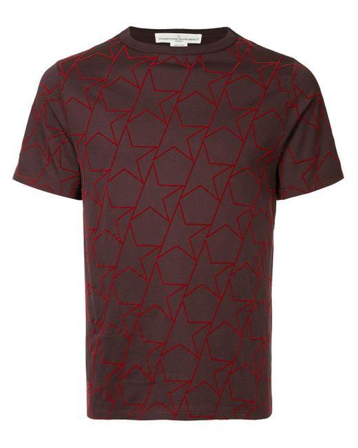 メンズ Golden Goose Deluxe Brand スタープリント Tシャツ Multicolor