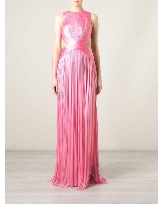 Maria Lucia Hohan Manu イブニング ドレス Pink