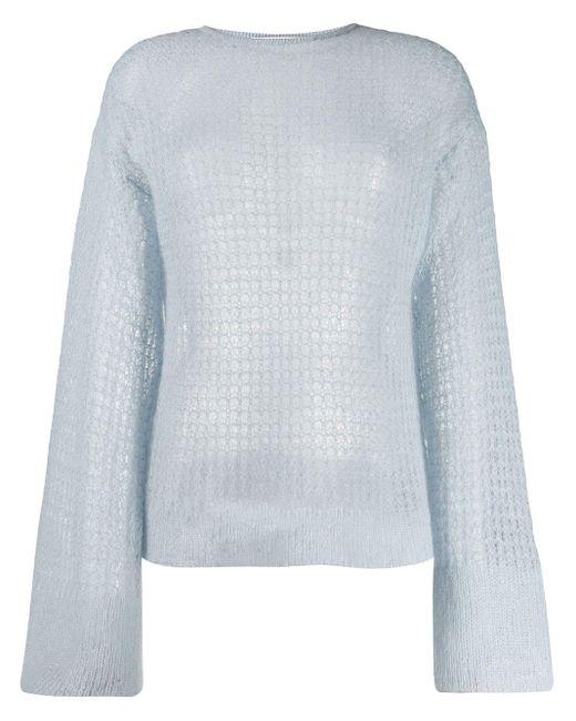 Genny オープンニット セーター Multicolor