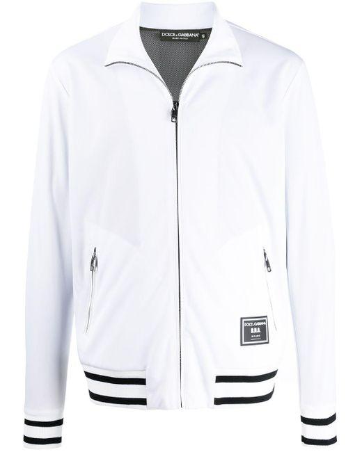 メンズ Dolce & Gabbana ロゴパッチ スウェットシャツ White
