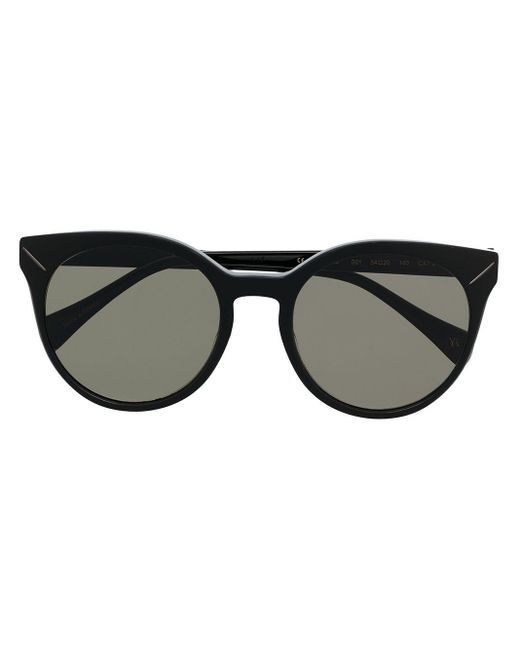 Yohji Yamamoto Ys 500 キャットアイ サングラス Black