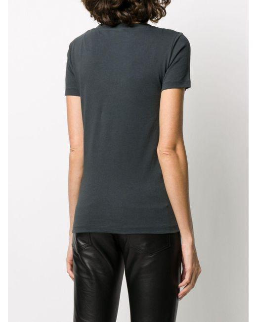John Richmond Vネック Tシャツ Black