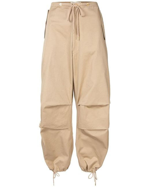 Dion Lee ドローストリング パンツ Brown