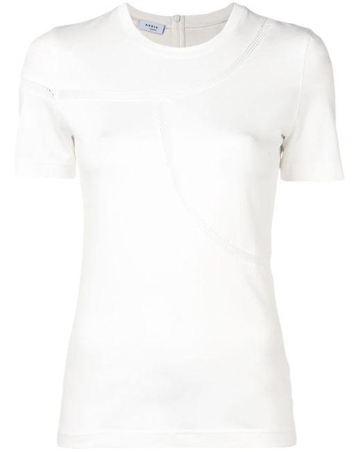 Akris Punto メッシュ Tシャツ White