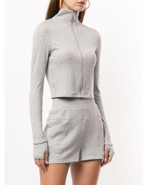 Alala Rise ジップアップ スウェットシャツ Gray