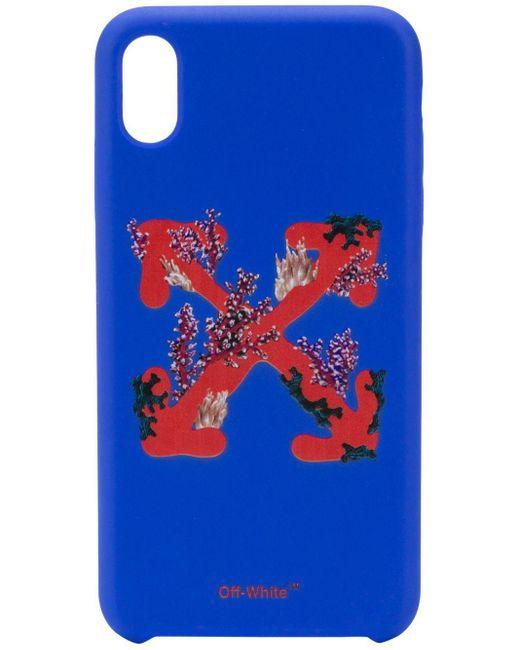 Off-White c/o Virgil Abloh Iphone Xs Max ケース Blue