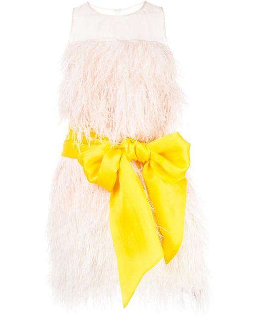 Cynthia Rowley フェザードレス Yellow