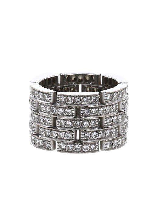 Cartier 2010 プレオウンド Maillon Panthère ダイヤモンド リング Multicolor