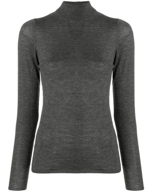 Allude カシミア セーター Gray