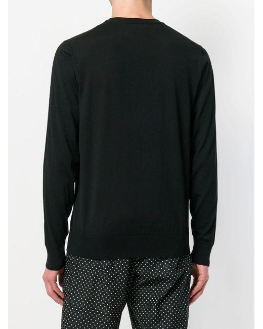 メンズ Dolce & Gabbana Millennials セーター Black