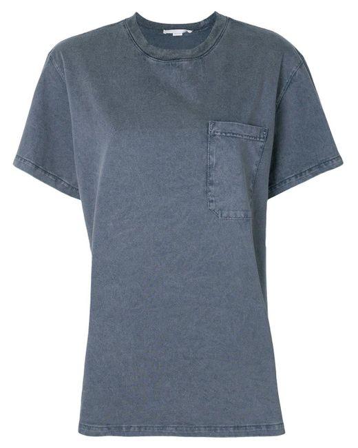 Stella McCartney ポケット Tシャツ Gray
