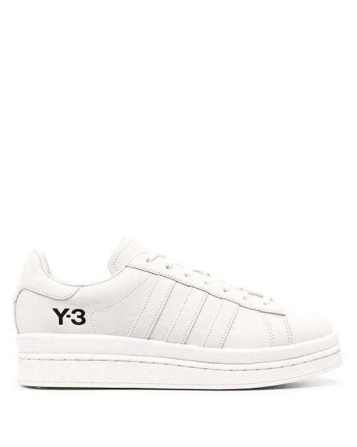 Кроссовки На Шнуровке Y-3 для него, цвет: White