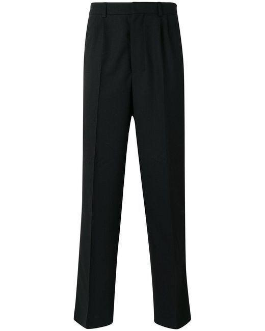 AMI - Black Loose-fit Tailored Trousers for Men - Lyst