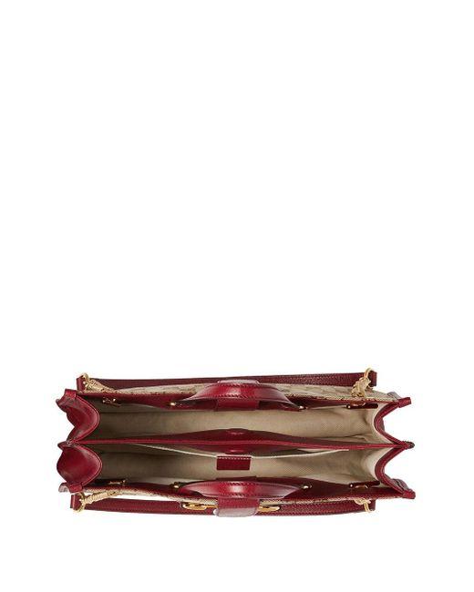 Borsa tote Horsebit media 1955 di Gucci in Brown