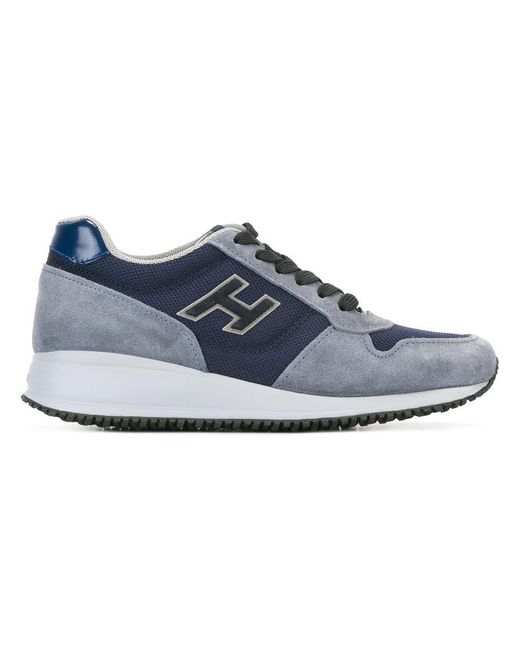 Hogan | Blue Chunky Sole Sneakers for Men | Lyst