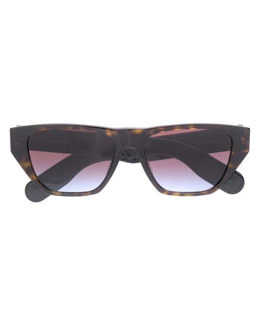 Occhiali da sole Insideout cat-eye di Dior in Brown