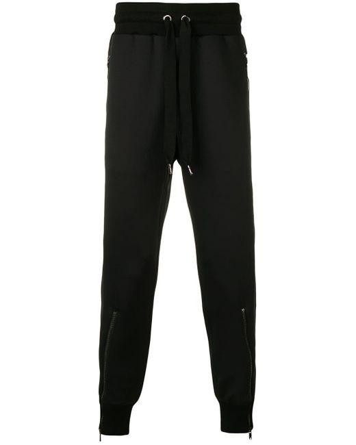メンズ Dolce & Gabbana ジップ トラックパンツ Black