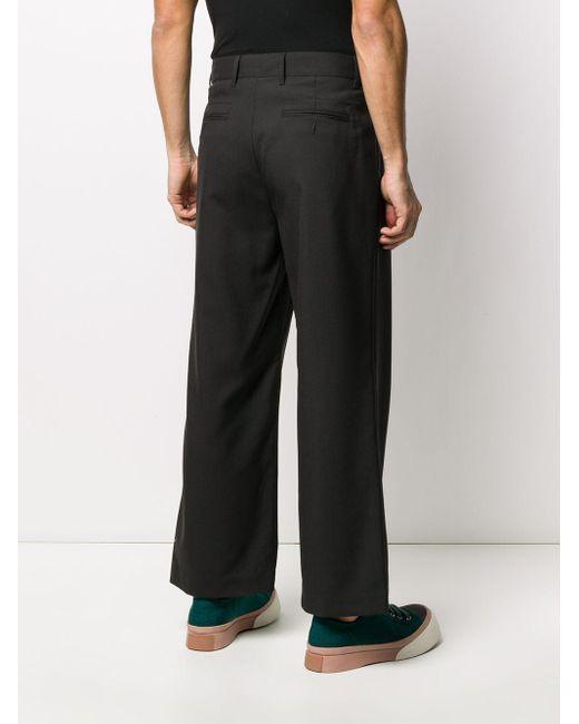 メンズ Marni サイドボタン パンツ Gray