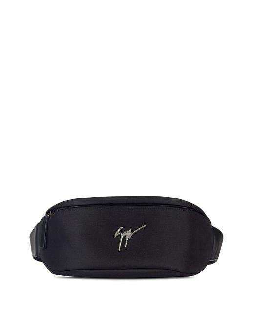 Поясная Сумка На Молнии С Логотипом Giuseppe Zanotti для него, цвет: Black