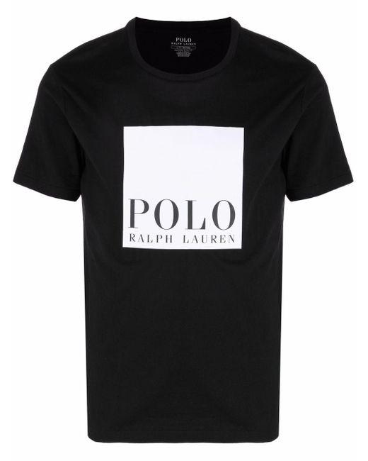 メンズ Polo Ralph Lauren ロゴ Tシャツ Black