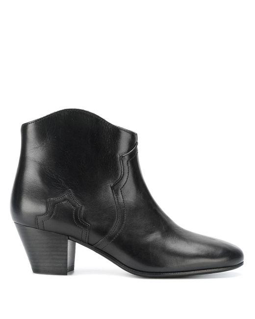 Isabel Marant Dicker Boots Black