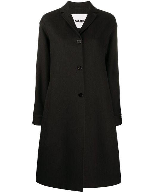 Jil Sander オーバーサイズ シングルコート Black