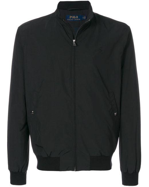 メンズ Ralph Lauren ジップジャケット Black