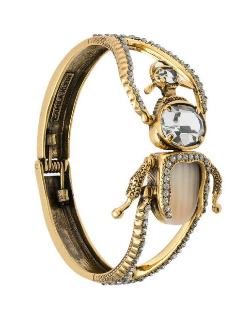 Camila Klein - Metallic Besouro Bracelet - Lyst