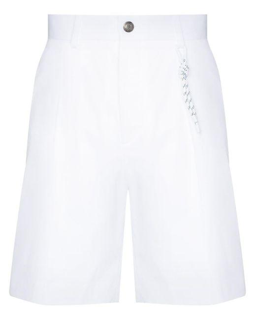 メンズ BOSS by Hugo Boss Pepe ショートパンツ White