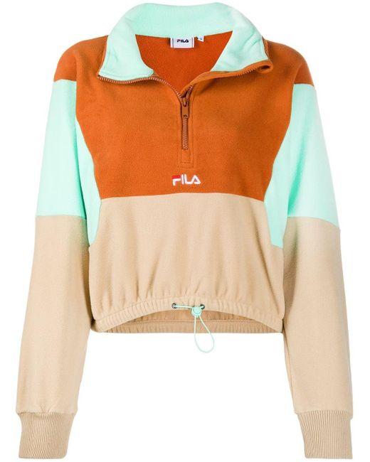 Fila カラーブロック スウェットシャツ Multicolor