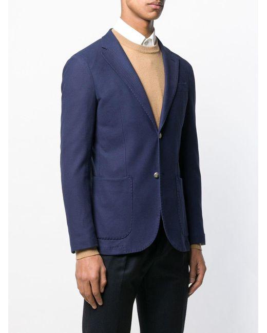 メンズ Eleventy スリムジャケット Blue