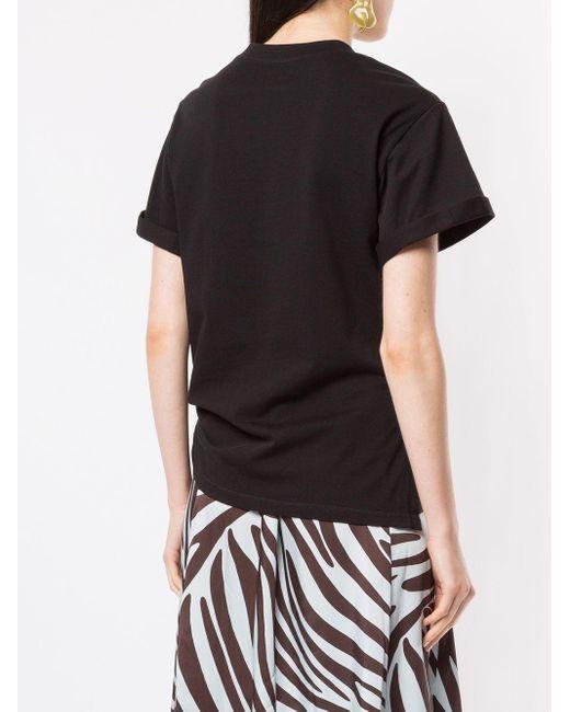 3.1 Phillip Lim サイドタイ Tシャツ Black