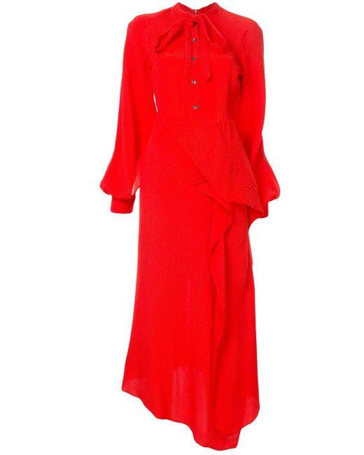 Roland Mouret Boscana ドレス Red