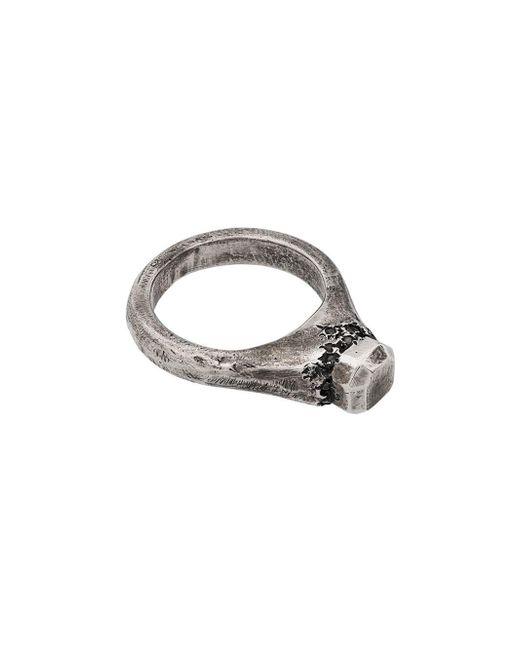 Tobias Wistisen Metallic Stone Ring