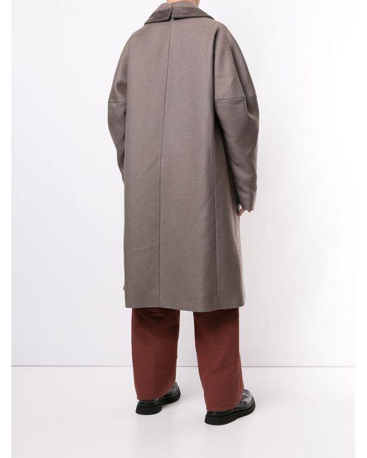 メンズ Kiko Kostadinov オーバーサイズ コート Multicolor
