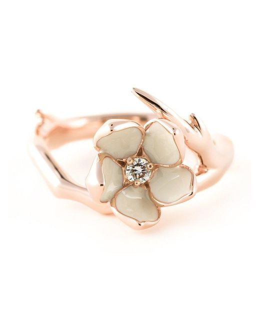 Shaun Leane - Metallic 'cherry Blossom' Diamond Ring - Lyst