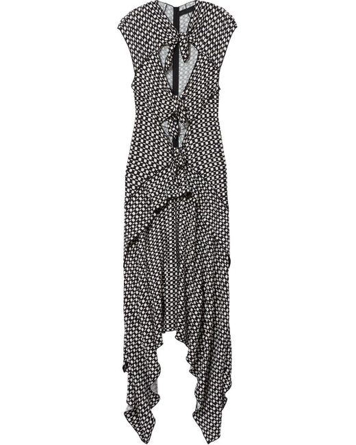 Proenza Schouler チェッカー ドレス Black