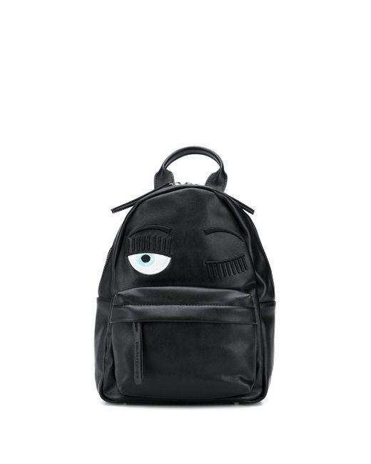 Рюкзак Eye Wink Chiara Ferragni, цвет: Black