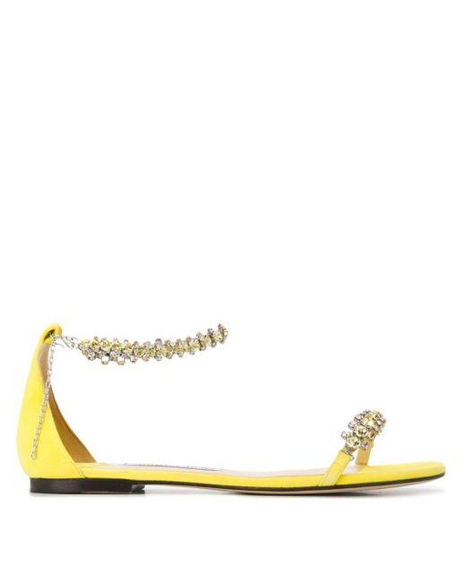 Сандалии Shiloh Jimmy Choo, цвет: Yellow