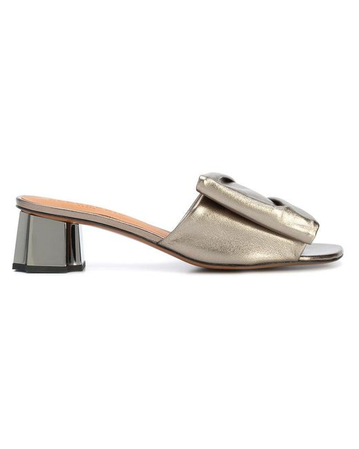 Clergerie - Gray Lendy Sandals - Lyst