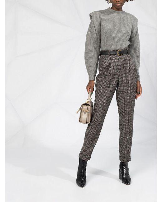 Dolce & Gabbana テーパード パンツ Gray