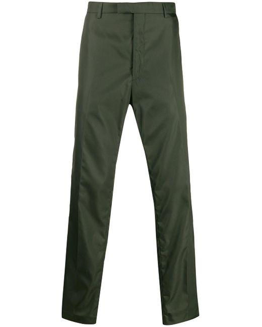 メンズ Prada ストレートパンツ Green