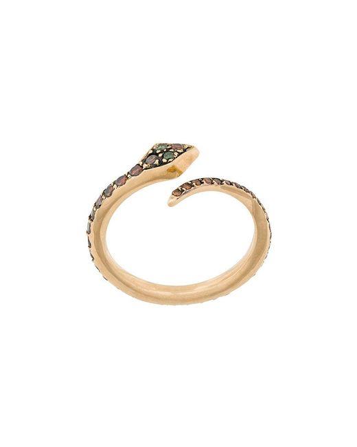 Ileana Makri - Metallic Big Snake Ring - Lyst