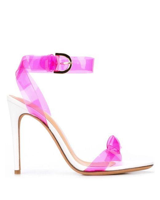 Sandalias con correa en el tobillo Alexandre Birman de color Pink