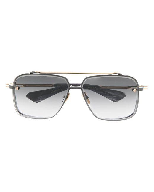 Солнцезащитные Очки-авиаторы С Затемненными Линзами Dita Eyewear, цвет: Black