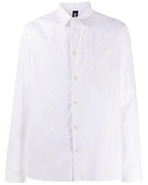 メンズ Raeburn ポケット シャツ White